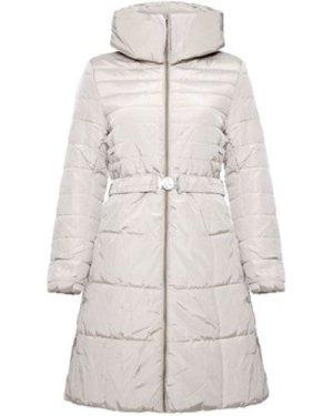 Mon Buofon  - Womens Warm Padded Winter Coat  women's Parka in Beige
