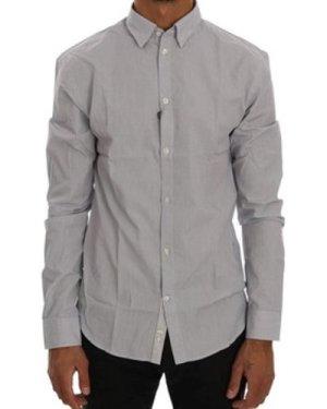 Frankie Morello  -  men's Long sleeved Shirt in multicolour