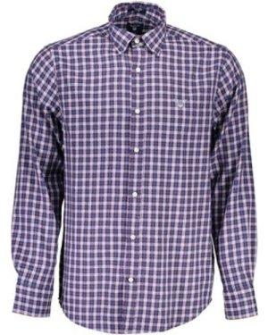 Gant  -  men's Long sleeved Shirt in multicolour