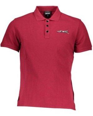 Roberto Cavalli  -  men's Polo shirt in multicolour