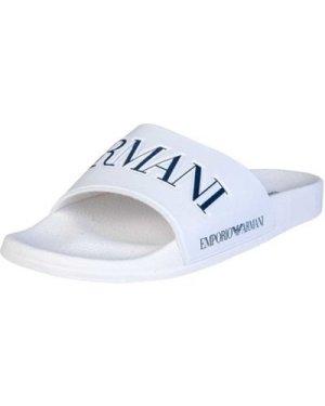Armani  X4P094XL792_b139white  men's Mules / Casual Shoes in White