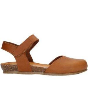Bionatura  68C2081ITUS Sandals Women Leather  women's Sandals in Brown