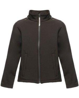 Professional  Classmate Softshell Jacket Black  boys's Children's coat in Black