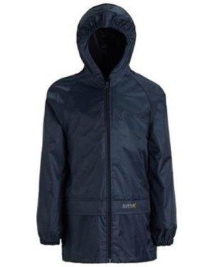 Regatta  Stormbreak Waterproof Shell Walking Jacket Blue  boys's Children's coat in Blue
