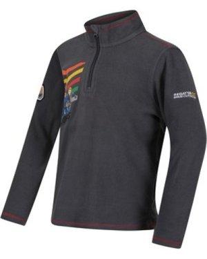 Regatta  Thunderbirds Are Go Crosscut Half Zip Fleece Grey  girls's Children's fleece jacket in Grey