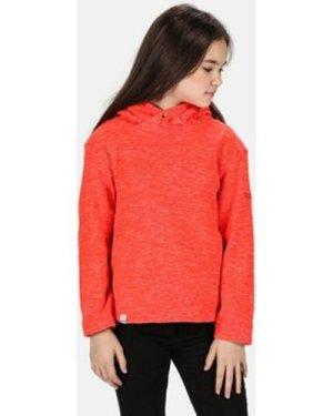 Regatta  Kacie Hooded Fleece Orange  girls's Children's fleece jacket in Orange
