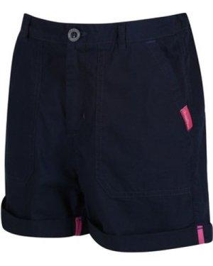 Regatta  Kids Damzel Cool Weave Cotton Shorts Blue  boys's Children's shorts in Blue