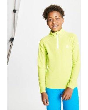 Dare 2b  Freehand Half Zip Lightweight Fleece Yellow  boys's Children's fleece jacket in Yellow