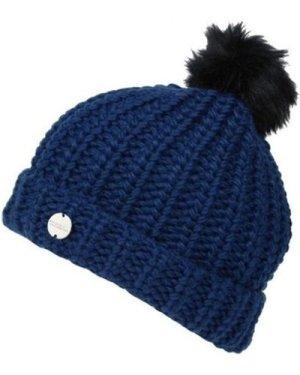 Regatta  Lovella II Chunky Knit Bobble Hat Blue  women's Hat in Blue