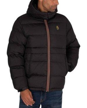 Luke 1977  Mallard Puffer Jacket  men's Jacket in Black