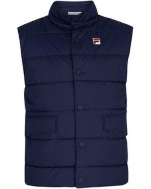 Fila  Smithfield Puffer Gilet  men's Jacket in Blue