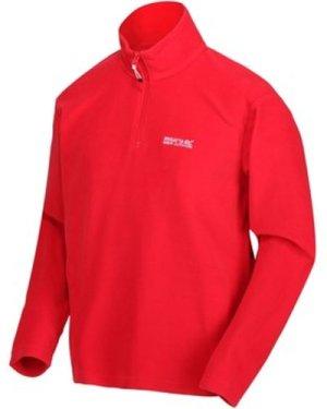 Regatta  Thompson Lightweight Half Zip Fleece Red  men's Fleece jacket in Red
