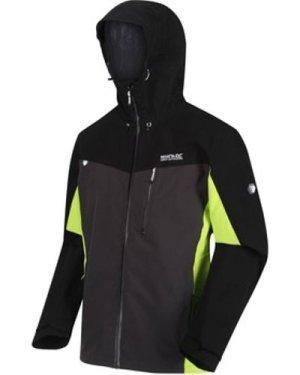 Regatta  Birchdale Waterproof Shell Hooded Walking Jacket Black  men's Tracksuit jacket in Black