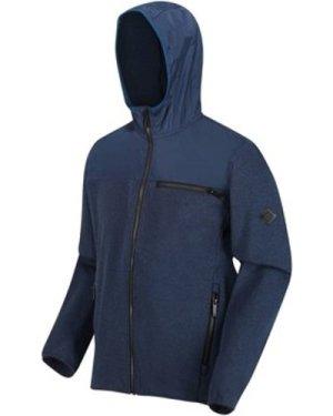 Regatta  Upham Hybrid Softshell Hooded Walking Jacket Blue  men's Fleece jacket in Blue
