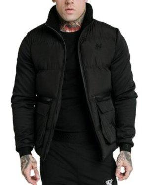 Siksilk  Neo Instinct Puffer Jacket  men's Jacket in Black