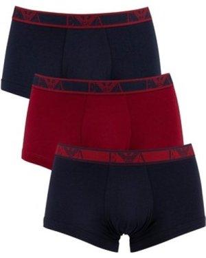 Armani  3 Pack Trunks  men's Boxer shorts in Multicolour