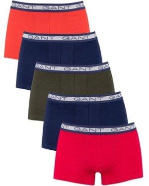 Gant  5 Pack Basic Trunks  men's Boxer shorts in Multicolour