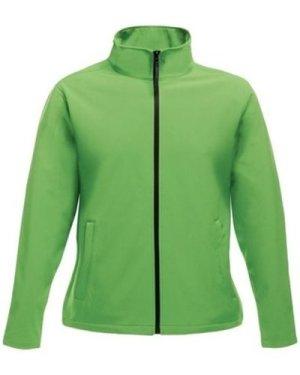 Professional  Ablaze Printable Softshell Jacket Green  men's Sweatshirt in Green