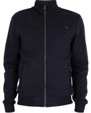 Superdry  Classic Zip Track Top  men's Jacket in Blue