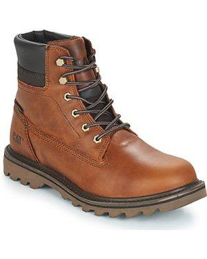 Caterpillar  DEPLETE WP  men's Mid Boots in Brown