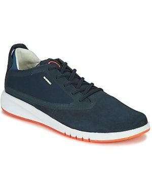 Geox  U AERANTIS  men's Shoes (Trainers) in Blue