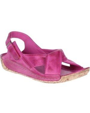 Riva Di Mare  Leona Leather  women's Sandals in Pink