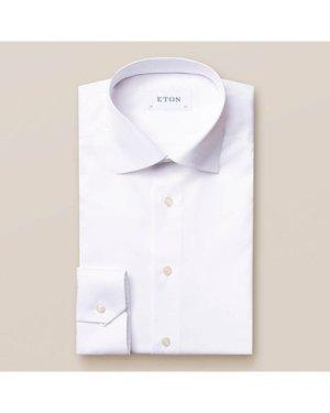 White Fine Twill Shirt