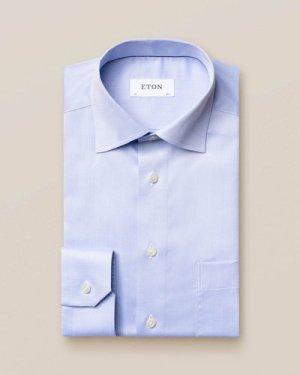 Light Blue Signature Twill Shirt