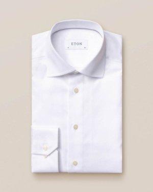 White Signature Twill Shirt