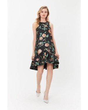 Coast Opera Hem Dress, Multi