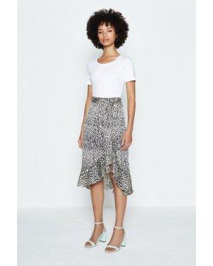 Coast Animal Print Skirt, Multi
