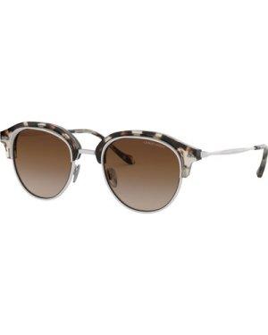 Giorgio Armani AR8117 564813 Brown Havana-Matte Cream/Brown Gradient **