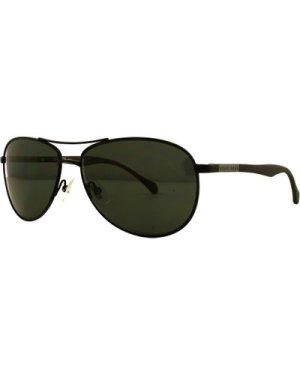 Hugo Boss 0824/S YZ2/6E Matte Black/Grey  **