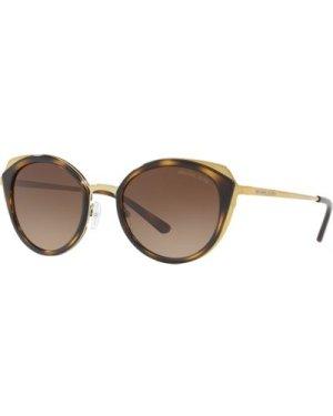 Michael Kors Charleston MK1029 1168/13 Shiny Pale Gold-Dark Tortoise/Dark Brown Gradient **