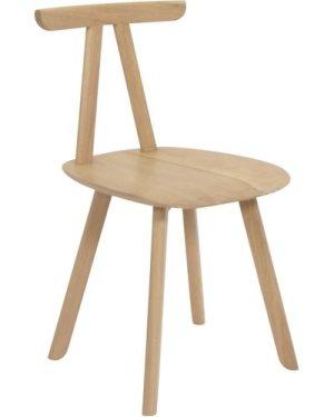 Juka Solid Oak Chair, Laurent Batisse