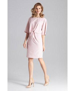 Figl Pink Delicate Midi Dress