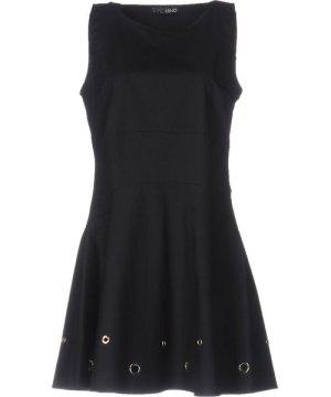 Liu Jo Black Cotton Short Dress