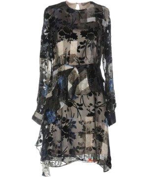 Preen By Thornton Bregazzi DRESSES Dark blue Woman Silk