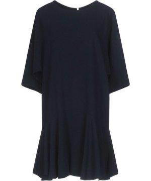 Tara Jarmon DRESSES Dark blue Woman Acetate