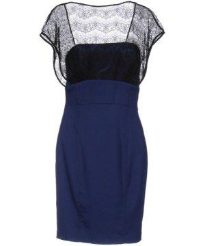 Mangano DRESSES Blue Woman Polyamid