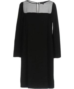 Tara Jarmon DRESSES Black Woman Acetate
