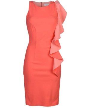 Christies A Porter Coral Sleeveless Dress