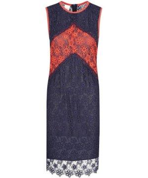 Pinko PINKO WOMEN'S 1G13UPY577GAZ BLUE VISCOSE DRESS