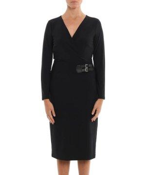 Ralph Lauren RALPH LAUREN WOMEN'S 250751548002 BLACK POLYESTER DRESS