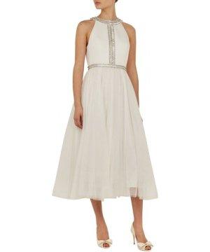 Ted Baker Reagane Embellished Bodice Tutu Dress, White
