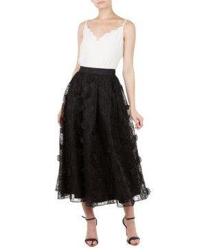 Ted Baker Lovella Ankle Length Full Skirt, Black