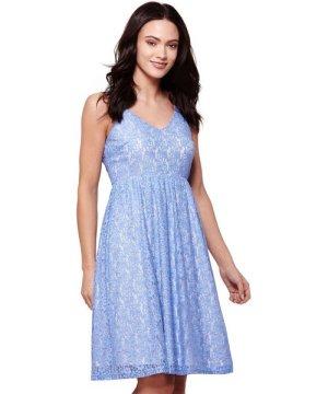 Yumi STRAP LACE DRESS