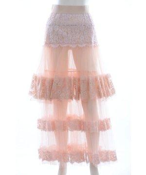 Dolce & Gabbana Women Long Lace Skirt
