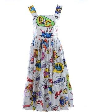 Dolce & Gabbana Women Printed Sleevless Long Dress