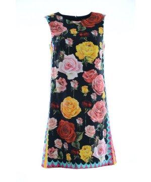 Dolce & Gabbana Women Short Silk Dress